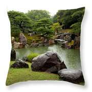 Kyoto Garden  Throw Pillow