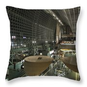 Kyoto Main Train Station - Japan Throw Pillow