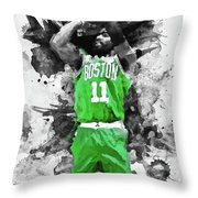 Kyrie Irving, Boston Celtics - 05 Throw Pillow