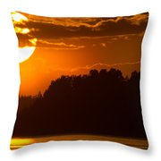 L For Ladoga Throw Pillow