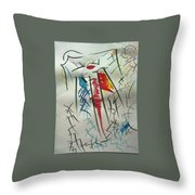 L-i Throw Pillow