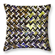 L T Z Abstract Throw Pillow