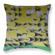 l13-FFA59F-3x3-1500x1500 Throw Pillow