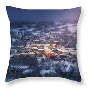 La Arboleda Throw Pillow