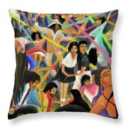 La Bamba Throw Pillow