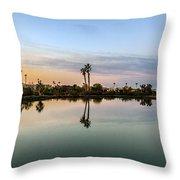 La Barrancas Golf Course Throw Pillow