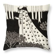 La Beale Isolde Throw Pillow