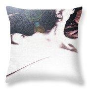 La Belle Aux Bois Dormant Throw Pillow