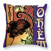 La Boheme Throw Pillow