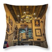 La Cubana Restaurant Throw Pillow