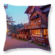 La Cumbrecita, Argentina Throw Pillow