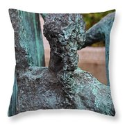La Familia By Eduardo Oropeza II Throw Pillow