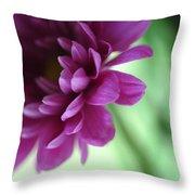 La Fleur De L' Amour Throw Pillow