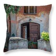 La Fraschetta Del Borgo Throw Pillow