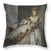 La Frayeur Throw Pillow