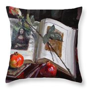 La Gioconda  Throw Pillow