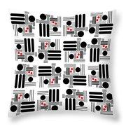 L A Hot Spots Throw Pillow