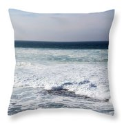 Atlas Ocean /la Jolla Shores Throw Pillow
