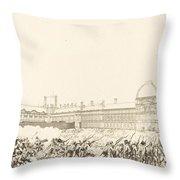 La Journee Du 10 Aout 1792 Throw Pillow