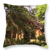 La Maison Throw Pillow