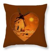 La Mancha Throw Pillow