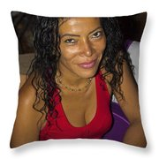 La Mirada - The Look II Throw Pillow
