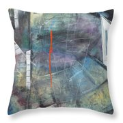 La Mort Au Cirque Throw Pillow
