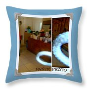 La Mystic Photo Throw Pillow