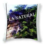 La Natural 2 Throw Pillow