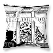 La Parisiane Throw Pillow