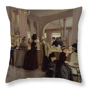 La Patisserie Throw Pillow
