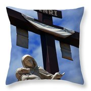 La Pieta Throw Pillow