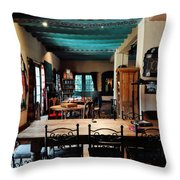 La Posada Historic Hotel Lounge Throw Pillow