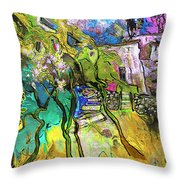 La Provence 02 Throw Pillow