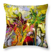 La Provence 05 Throw Pillow