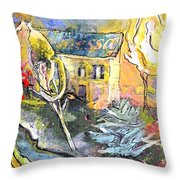 La Provence 11 Throw Pillow