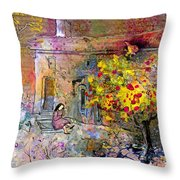 La Provence 13 Throw Pillow