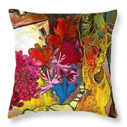 La Provence 15 Throw Pillow