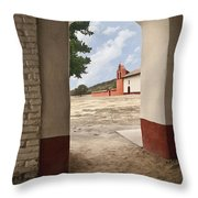 La Purisima Arch Throw Pillow