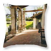 La Purisima Long View Throw Pillow