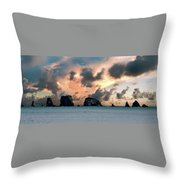 La Push Lineup Throw Pillow