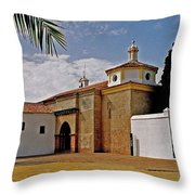 La Rabida Monastery - Huelva Throw Pillow
