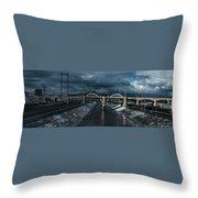 Los Angeles River Autumn 2015 Throw Pillow