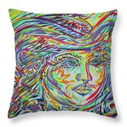 La Rosita Throw Pillow