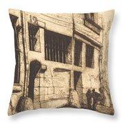 La Rue Des Mauvais Gar?ons, Paris (the Street Of The Bad Boys) Throw Pillow