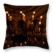 La Salle D'attente Throw Pillow