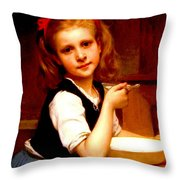 La Soupe Throw Pillow