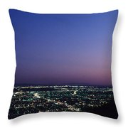 L.a. Sunset Throw Pillow