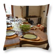 La Tavola Italiana Throw Pillow