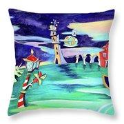 La Tempesta - Grand Canal Palace Throw Pillow